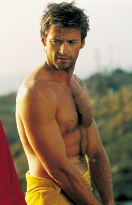 growly hugh in towel